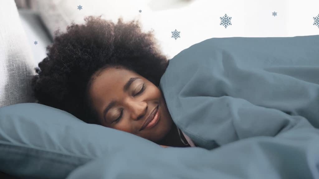 warm bed tijdens wintermaanden